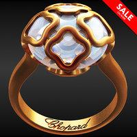 3D model chopard ring