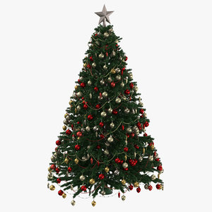3D christmas tree 03