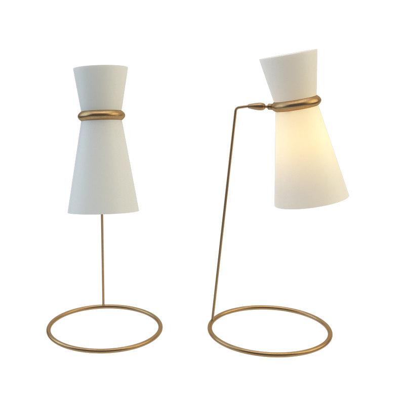 clarkson table lamp model