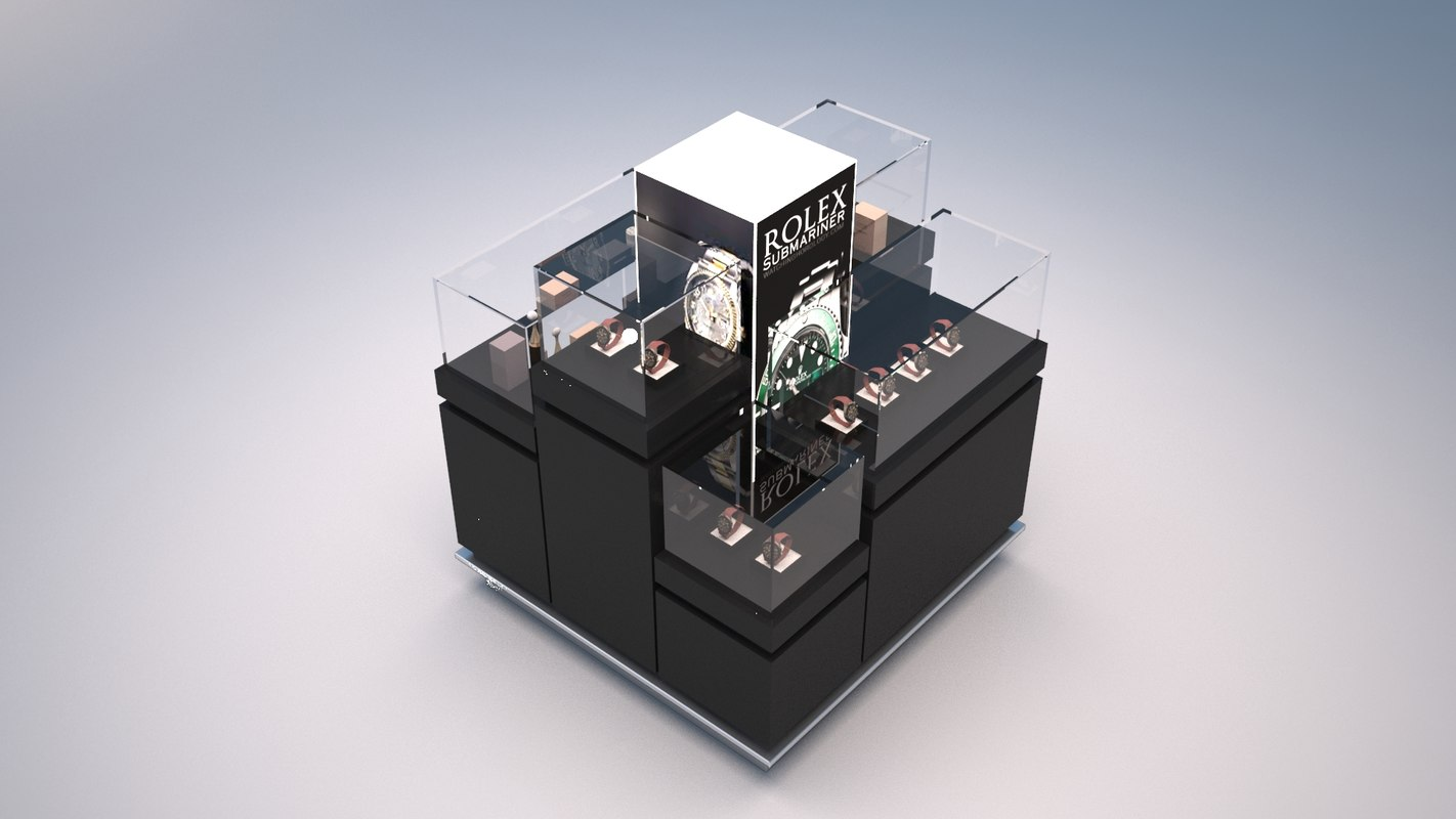 3D display stands duty products