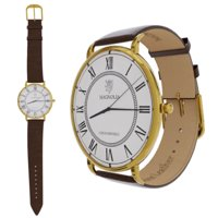 3D elegant wristwatch gold variant