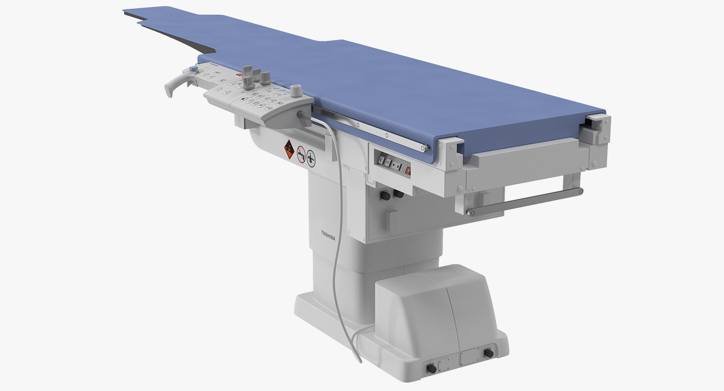 mobile angiography table 3D