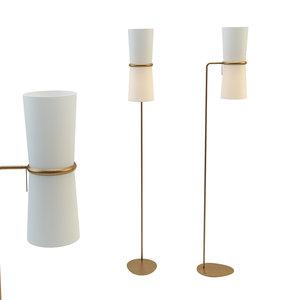 3D clarkson floor lamp