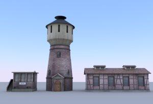 3D railway set