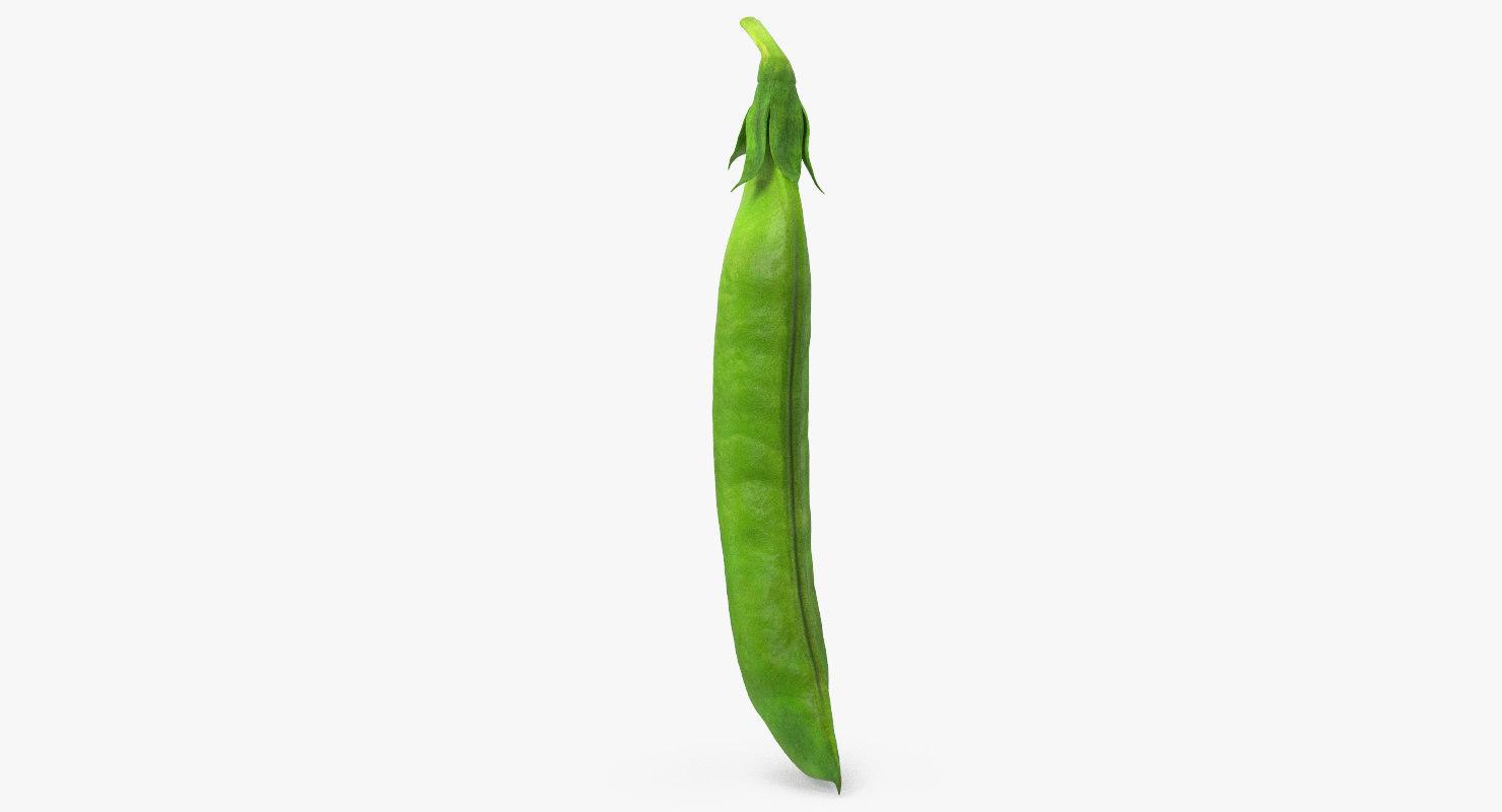 fresh pea pod closed model