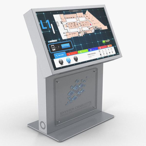 3D envision charlotte kiosk