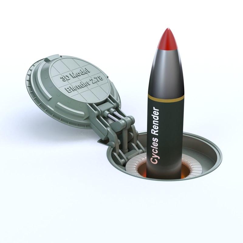 missile silo model