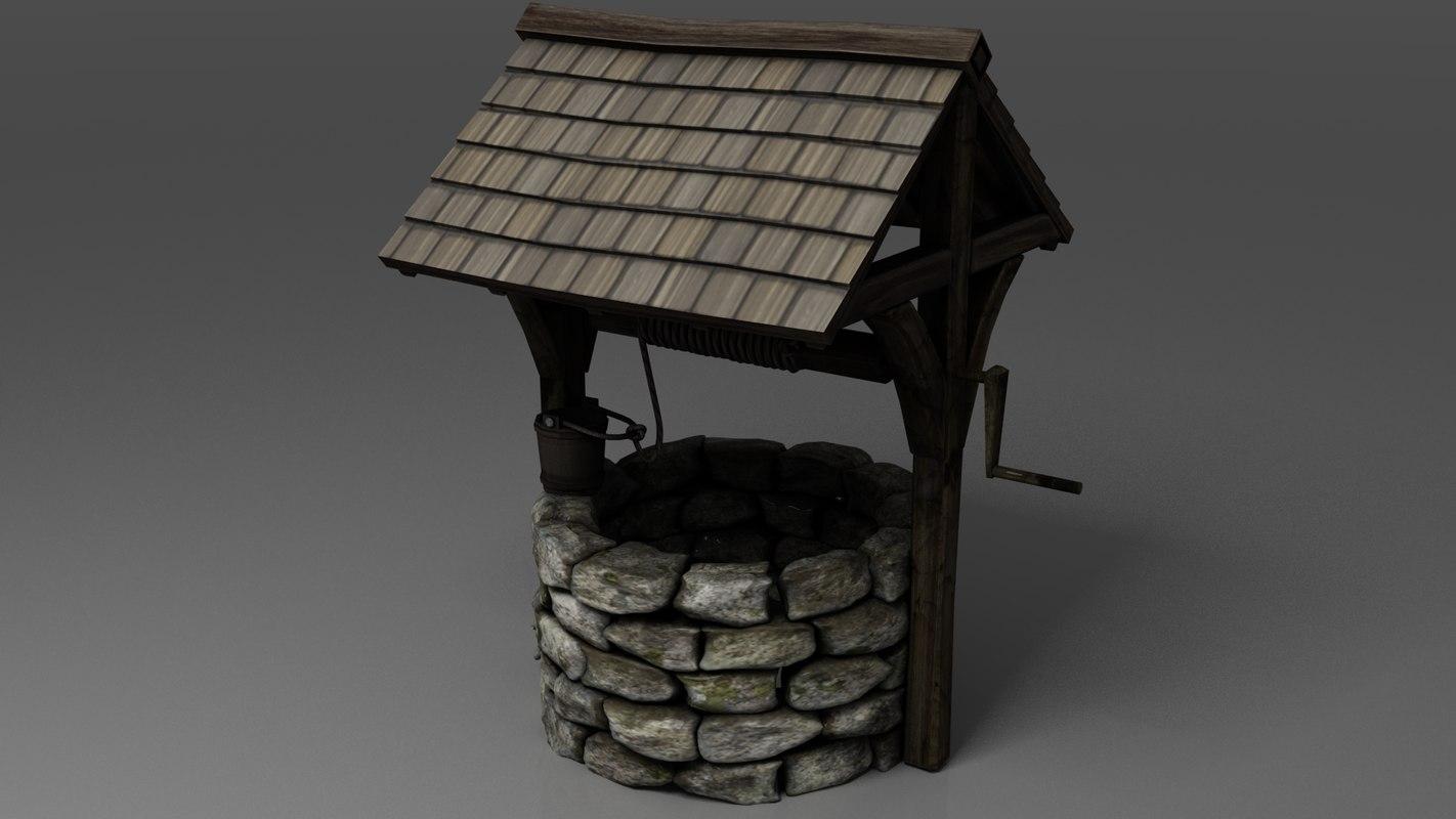 3D cottage nature