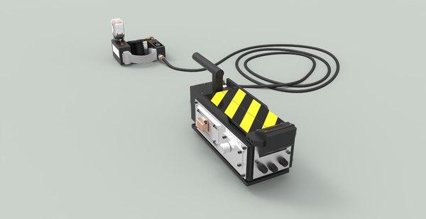 3D ghost trap model