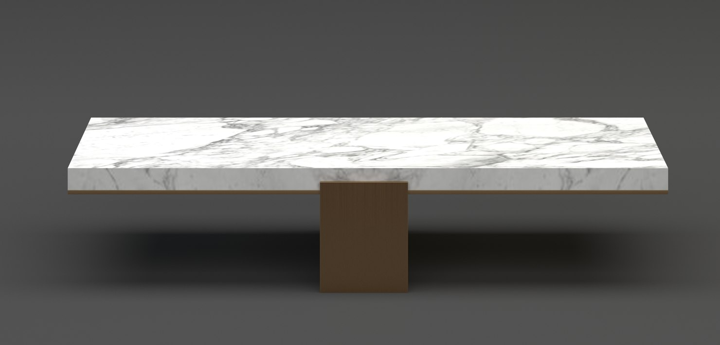hudson la gravit coffe table 3D model