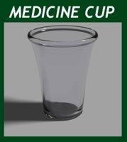 3D cup medicine