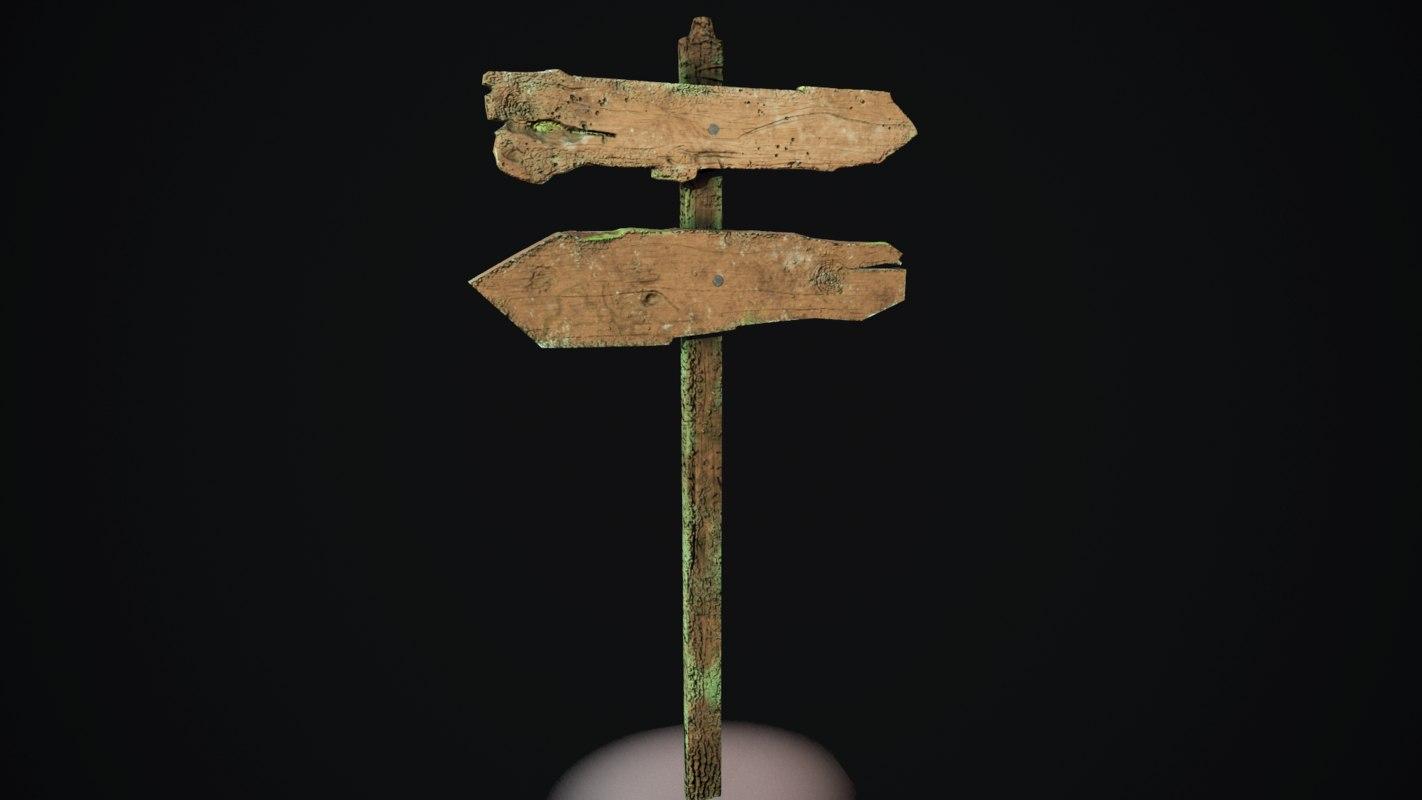 old signpost model