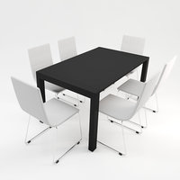 table set minimal 3D model
