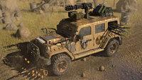 Post Apocalyptic Jeep