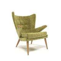 1211 velvet armchair model