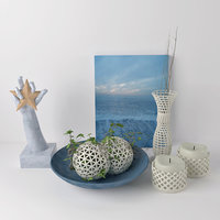 Decor set sea