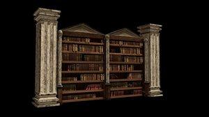 bookcase librero 3D model