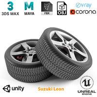 armrend car wheel suzuki model