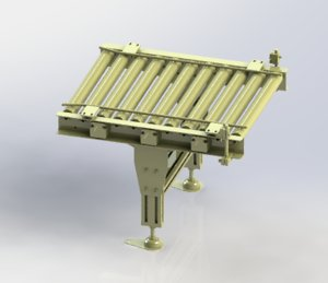roller assembly line 3D