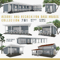 American Recreation Center Houses 7 in 1 Collection