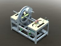 3D twister packaging machine
