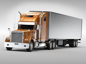 3D model freightliner truck