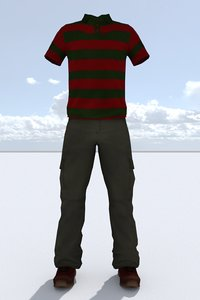 male outfit 3D