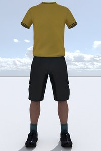 3D model male outfit