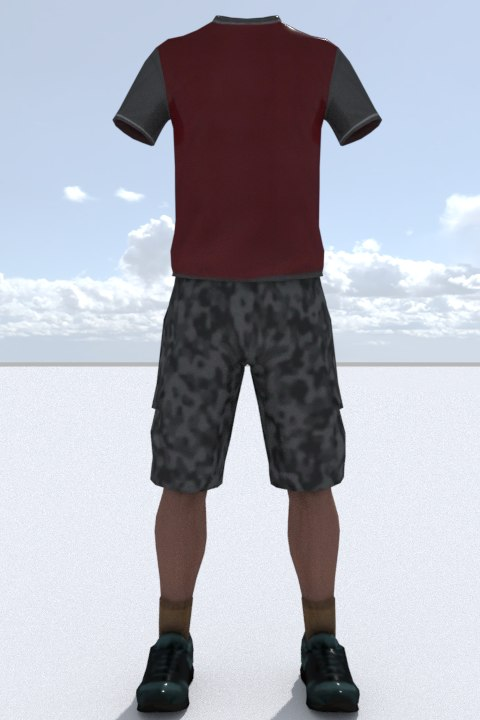 clothing outfit 3D model