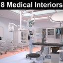 8 Medical Interiors Bundle