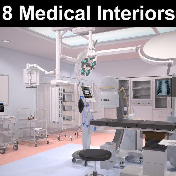 3D 8 hospital interior
