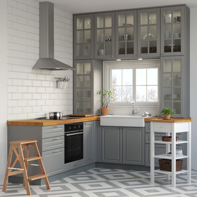 Kitchen Ikea Metod Model