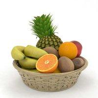 fruit basket 3D