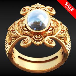 squama ring 3D model