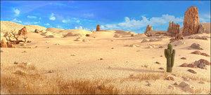 desert 3D