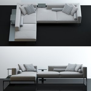 3D model walter knoll jaan living