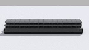 grand stand 3D model