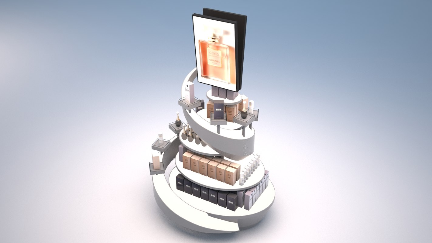 3D model 14 display stands duty