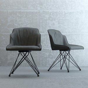 ci flaminia chair 3D model