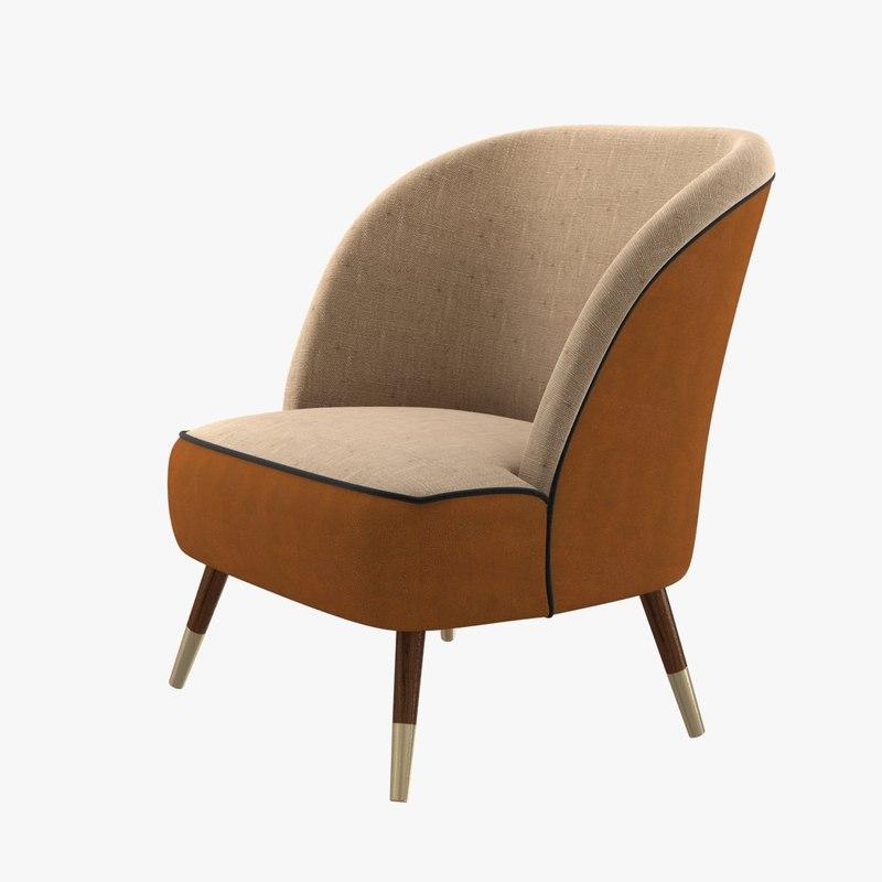 chair materials oslo 3D