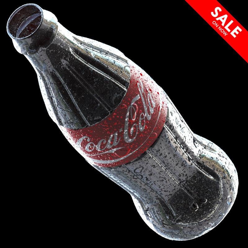 coca-cola bottle 3D