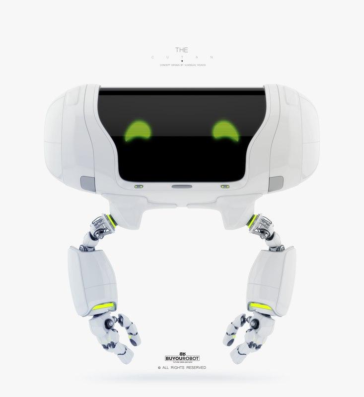 3D model robot robotic