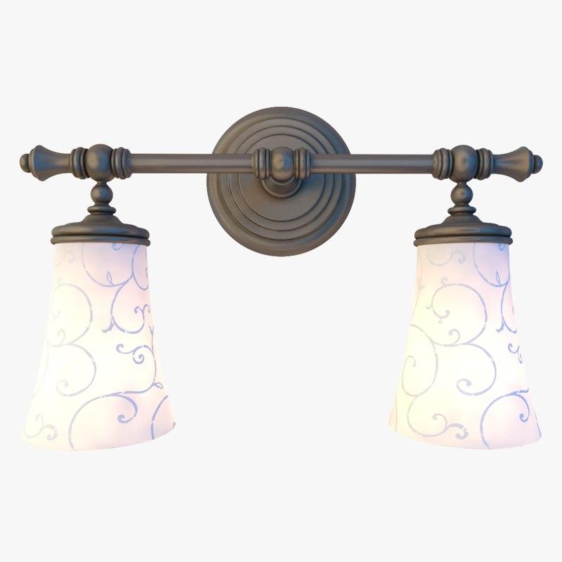bathroom light fixture model