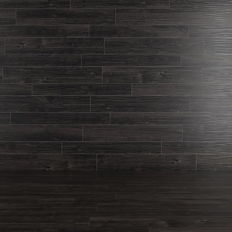 black wood 3D model