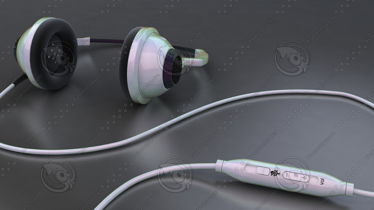 3D hi headphone