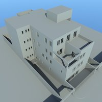 residential condominium apartment 3D model