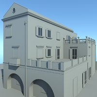 3D classical house