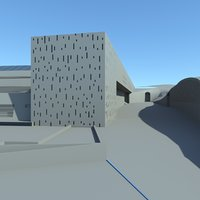 3D model research center