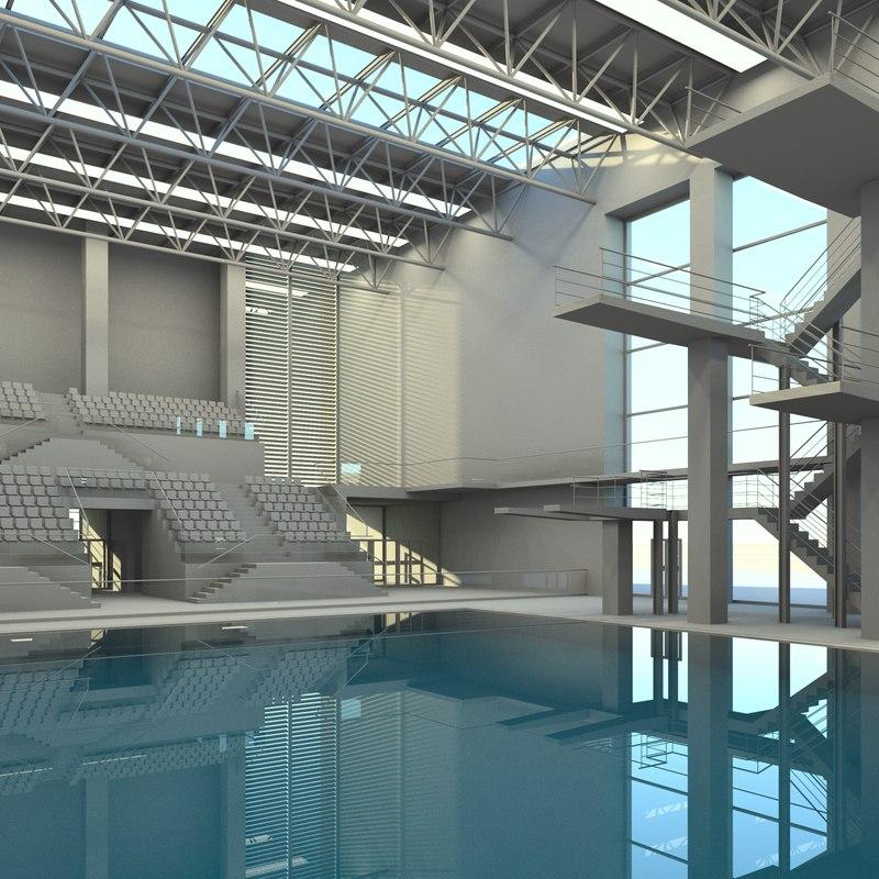 3D sports center