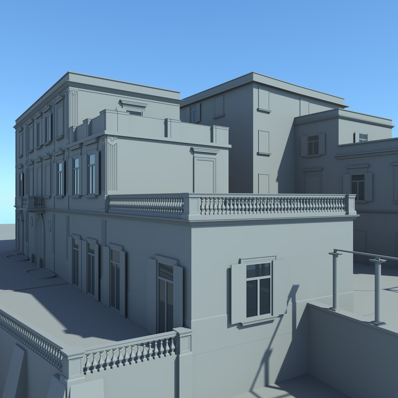 residential house 3D